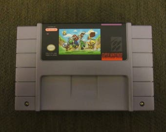 Super Mario World Plus 3 Super Nintendo SNES