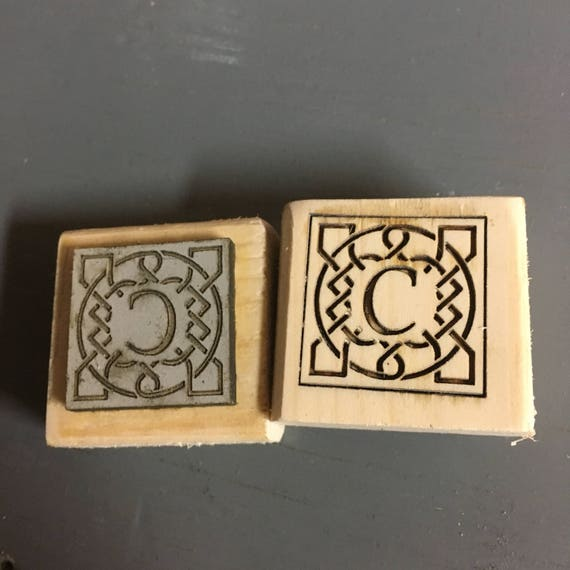 Custom Laser Engraved Wax Stamp