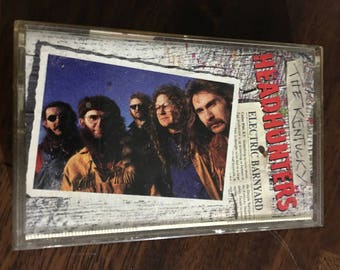 The Kentucky Headhunters Electric Barnyard Cassette