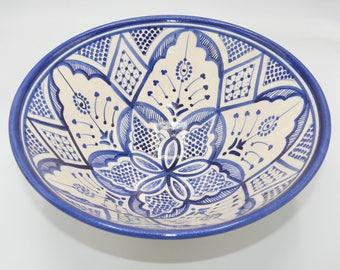 Moroccan Oriental ceramic dish bowl Fruit salad Cereal Ø 30 cm model Bahar