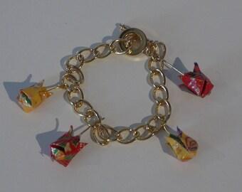 Origami Tulip bracelet