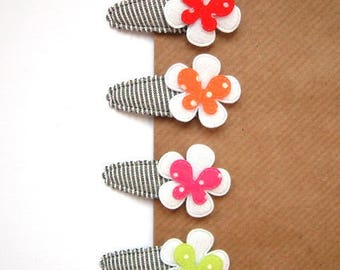 "Hair clip for baby & girl ""GIULIA"" - french Baby Hair Clip"