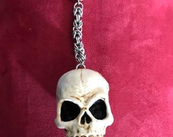 Nosferatu Skull Keychains
