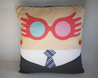 Luna Lovegood Inspired Pillow Case - 18x18 inches, Pillow NOT Included