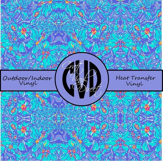 Beautiful Patterned Vinyl // Patterned / Printed Vinyl // Outdoor and Heat Transfer Vinyl // Pattern 61