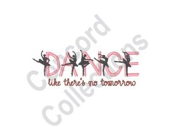 Dance - Machine Embroidery Design