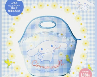 Cinnamoroll Lunch Tote Bag + Mini Drink Recipe BOOK シナモロール