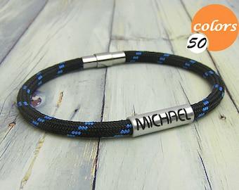 Mens bracelet personalized. Mens personalized bracelet. Personalized mens  bracelet