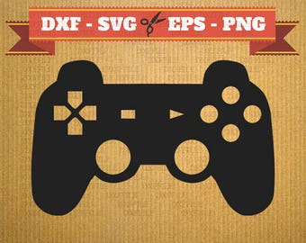 Joystick games SVG vector files for cricut, Gamepad cutting files, clipart gamepad, DXF files controler, silhouette Joystick games, svg