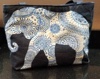 Elephant tote.