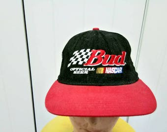Rare Vintage NASCAR RACING 50 Anniversary Cap Hat Free Size Fit All