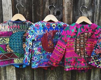 3 Years, 3T Banjara Toddler Moon Jacket, Kids Hippie Jacket, Moon Jacket, Moon Baby, Bohemian Kids Jacket, Lightweight Coat, Boho Coat