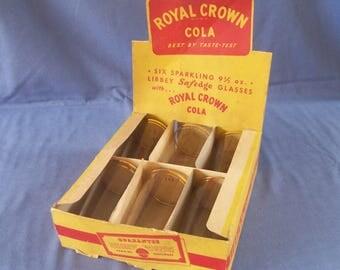 Royal Crown Cola Libbey Display