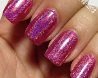 PINK TOURMALINE Holographic Polish