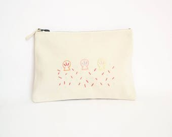 Small cotton clutch shells