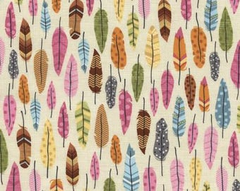 Feather's Cream Under the Stars Collection by Timeless Treasures #C3585-CRM 100% Cotton