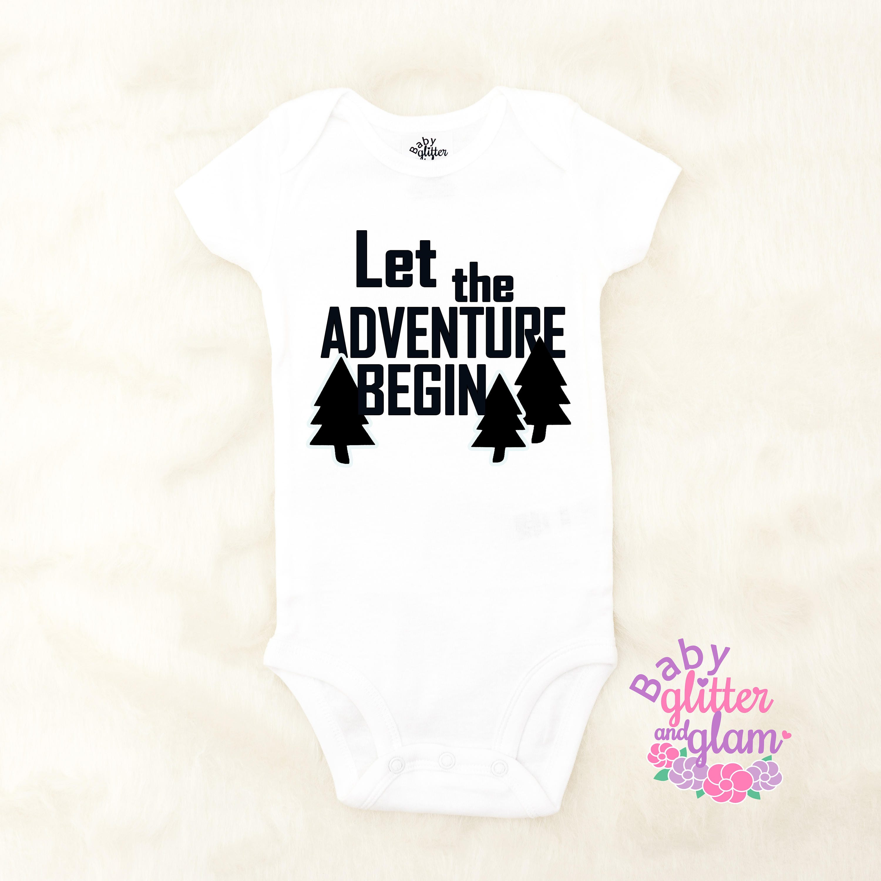 Let the Adventure Begin Pregnancy Announcement Reveal Daddy s