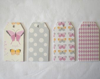 Eight taggies Butterfly patterns
