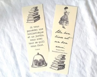 2 bookmarks with quotes