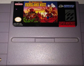 American Tail An - Fievel Goes West SNES (NTSC-US)