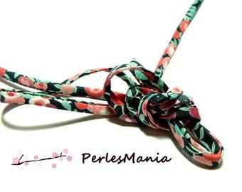 50 cm S9009J Ribbon spaghetti 5mm floral liberty fabric cord, DIY