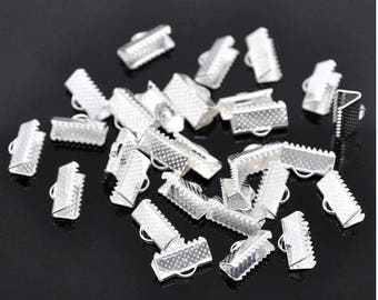 Great Lot of 200 caps 13 mm x 8 mm zinc alloy claw clips