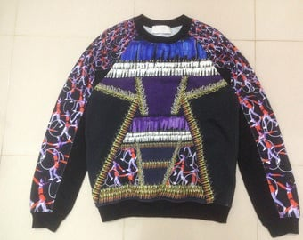 15% Off with Coupon Codes!!! Peter Pilotto Designer Over Print Pullover