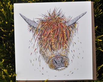 Horace the Highland Cow