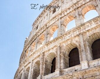 Roman Colosseum, Rome, Italy, Europe, Travel, Decor, Photography