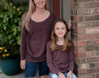 Mommy and me shirts - Mommy and daughter fall shirts - mommy and me matching outfits - mommy and me tops - mommy me fall shirts