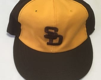 San Diego Padres Vintage Stretch-Fit Hat
