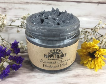 Charcoal black head mask, detoxing mask, charcoal face mask, clear skin, cystic acne, armpit detox mask
