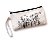 Botanical Canvas Pen Pouch