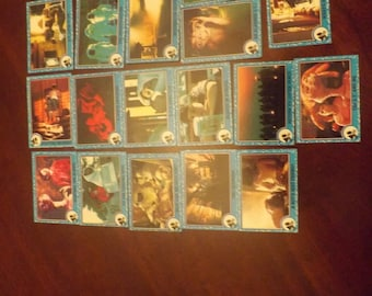 17  E T trading   cards  (  1982)