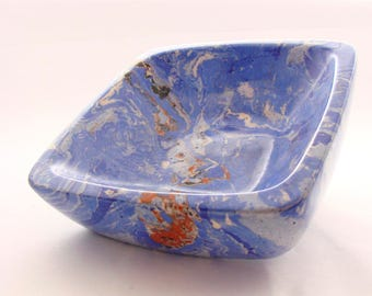 Decor bowl. Bowl marble.