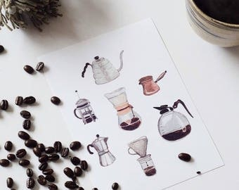 Poster 'Coffee'