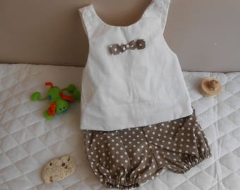 set of tunic and bloomer 12-18 months