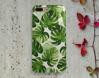 Palm Leaf Iphone 6S case Iphone 6 Case Iphone 5 case Iphone 5s Case Iphone 6 Plus case Iphone 6s Plus case Iphone 5C case SE Samsung Galaxy