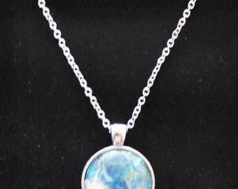 Art Pendant Necklace, jewlry