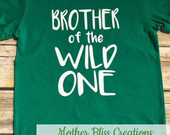 """Sibling Birthday Party """"Where All The Wild Things Are"""" Shirt Personalized 