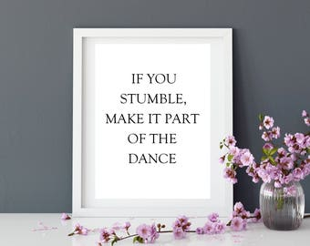 Prints   Quote   Motivation   Home Decor   Wall Decor   Art Print   Wall Art   Gift for her