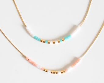 Collier tour de cou, choker, collier minimaliste, fine chaîne serpentine