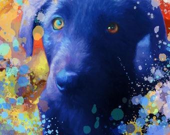 Custom dog portrait, Dog portrait custom, Pet portrait, Custom pet portrait, Pet paintings, Dog portrait, Custom dog painting, Pet portraits
