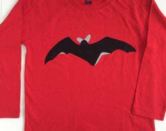 Halloween Top for Kids- Bat Tshirt for Halloween-Fun Halloween Top-Halloween Costume