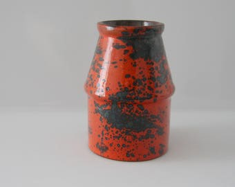 Remarkable Marei 5102 , Fat Lava, West German Pottery, WGP, Splash decor