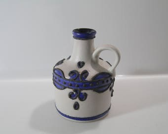 Pretty Marei 4301 vase, Fat Lava, West German Pottery, WGP