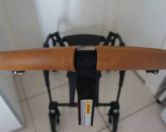 Bugaboo Bee Original, Bugaboo Bee+ & Bugaboo Bee3 Handlebar Set In Real Leather