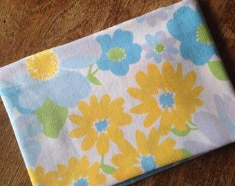 Fabric floral vintage (50 / 50cm)