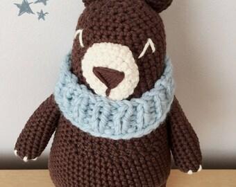 Child's plush - Bunchy, woodland bear - custom