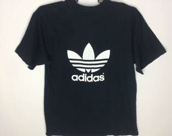 Vintage Adidas T-shirt Big Logo